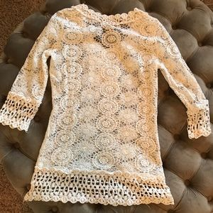 Other - Crochet bathing suit cover